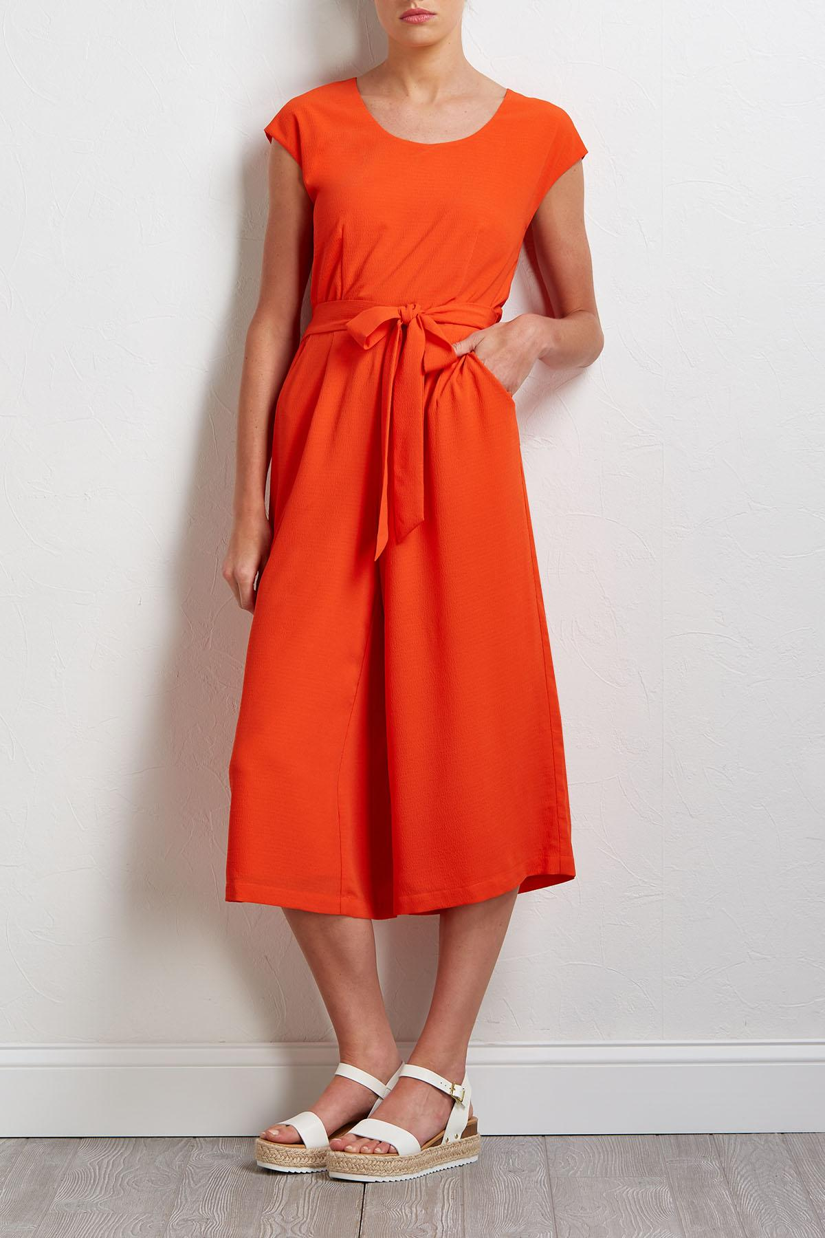 Orangesicle Jumpsuit