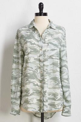march on camo top
