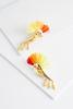 Spiky Hair Toucan Earrings