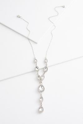 tear glass y-necklace