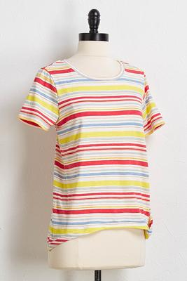 dandelion striped tee