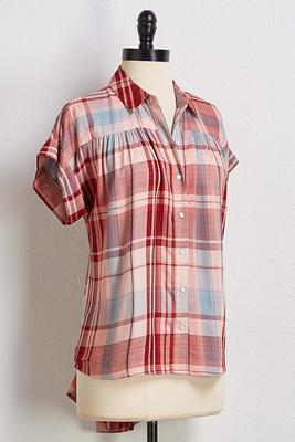 nashville button down top
