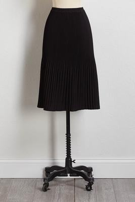 yes pleats midi skirt