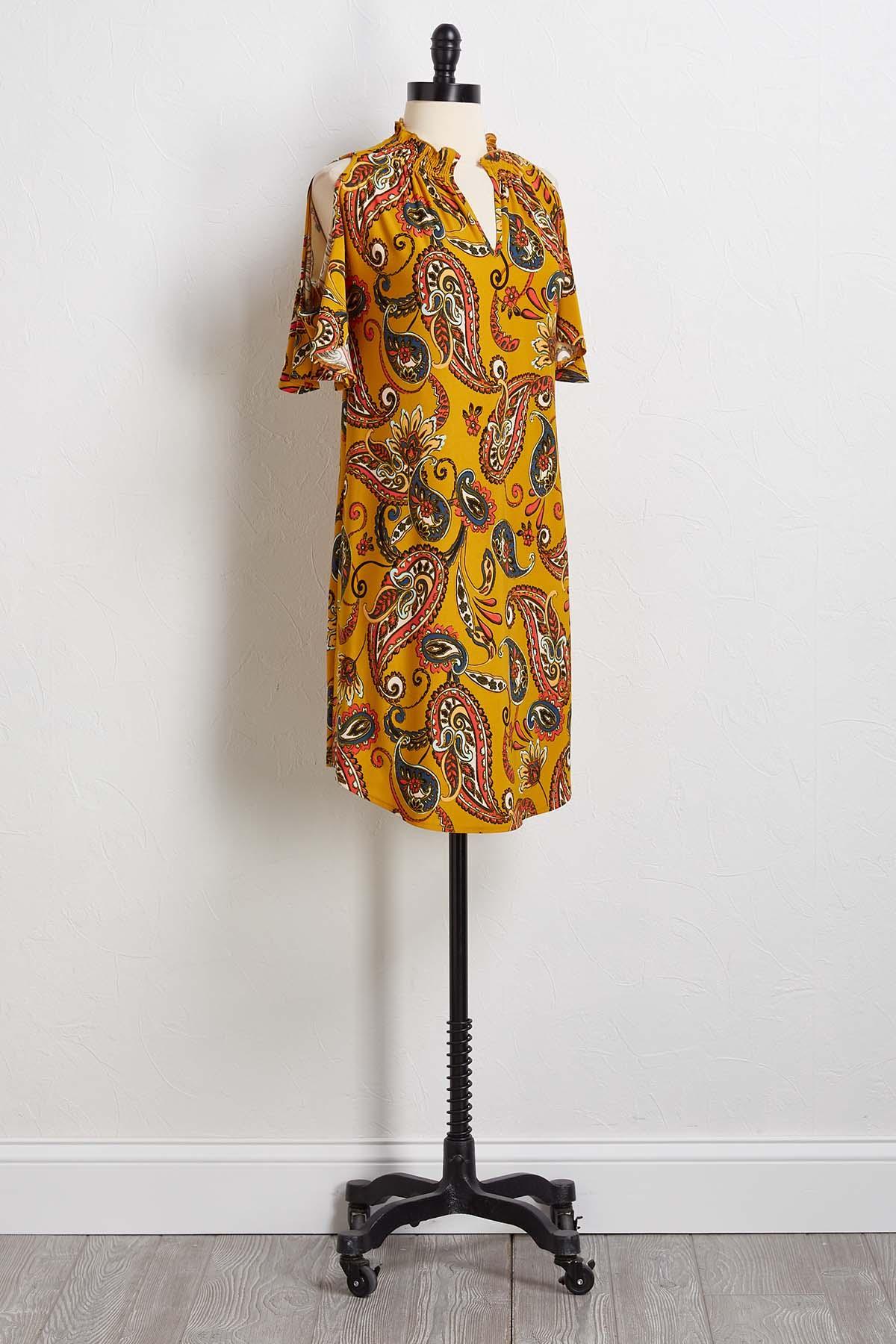 Fresh As A Paisley Dress