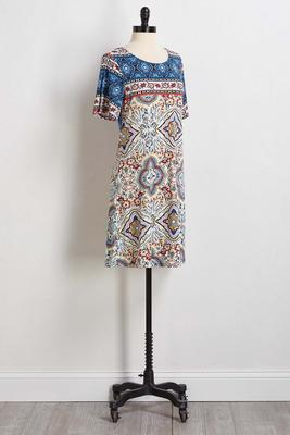 moroccan swing dress