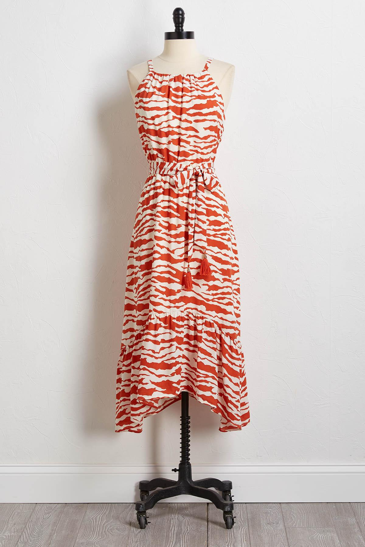 Wild Thing Midi Dress