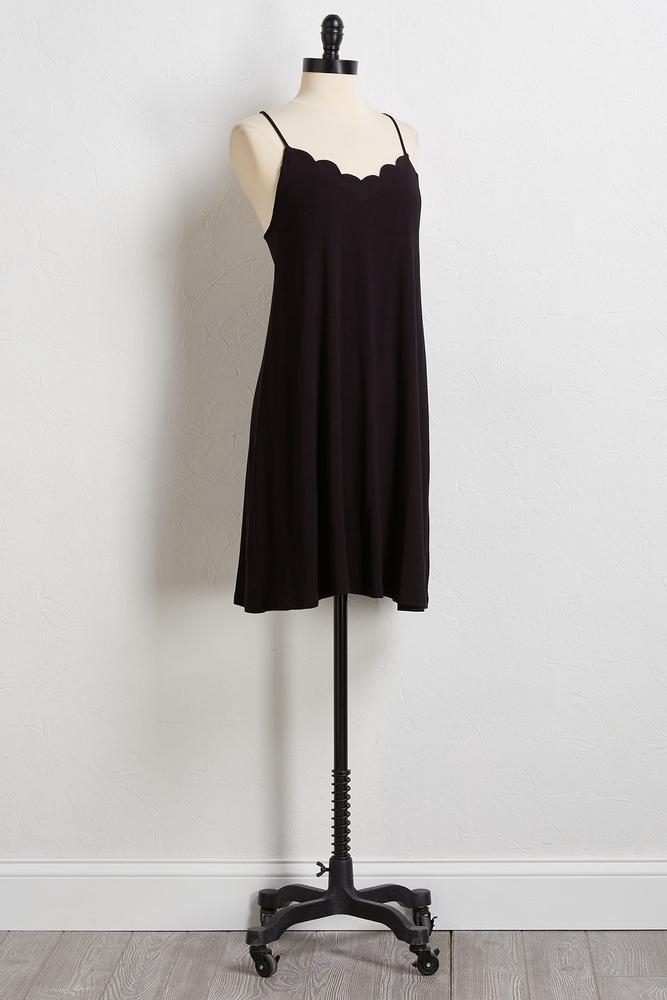 So Sweet Scalloped Dress