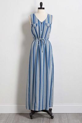 denim dreams maxi dress