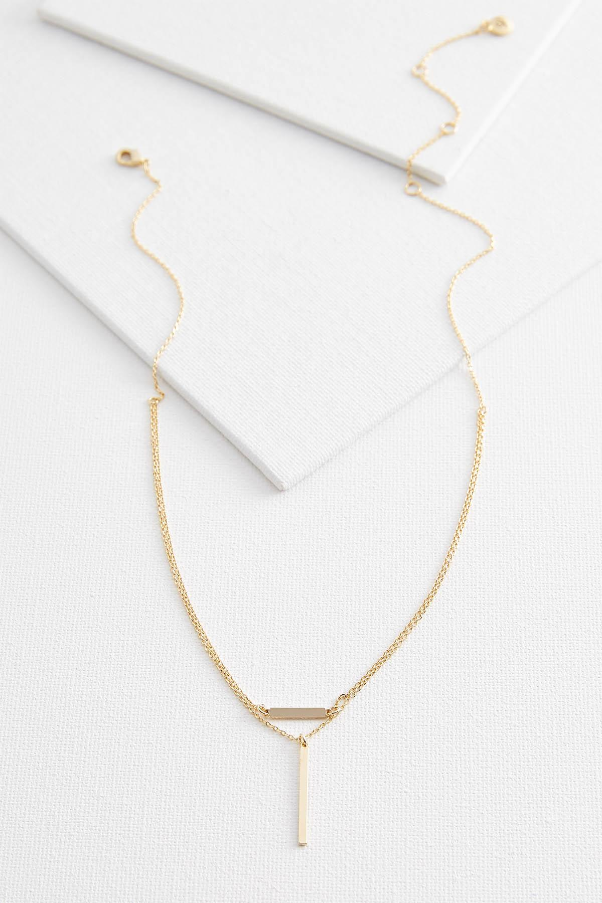 Raise The Bar Pendant Necklace