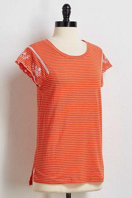 dreamweaver striped tee