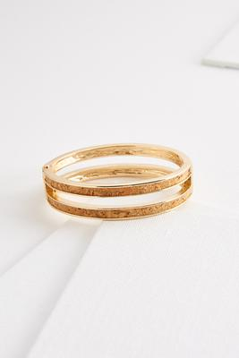 pop the cork bangle bracelet