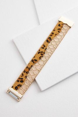 fierce and faux bracelet