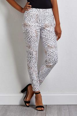 snow leopard pants