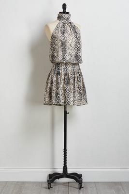 smock n roll dress