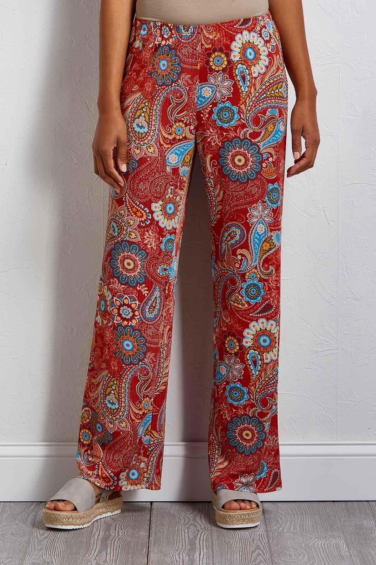 Paisley Peace Pants