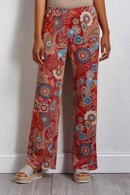 paisley peace pants