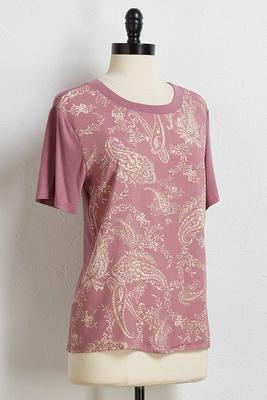 mix it up paisley tee