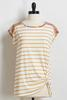 Mixed Feelings Knotted Top