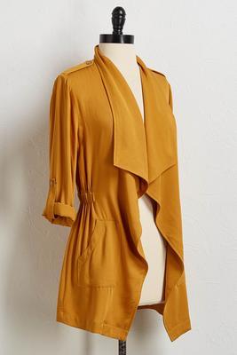 utility drape jacket