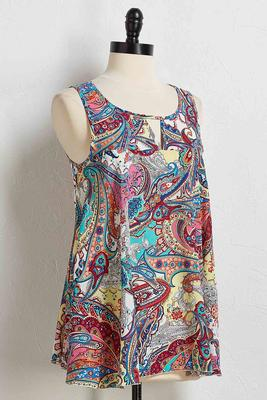 perfectly paisley tank