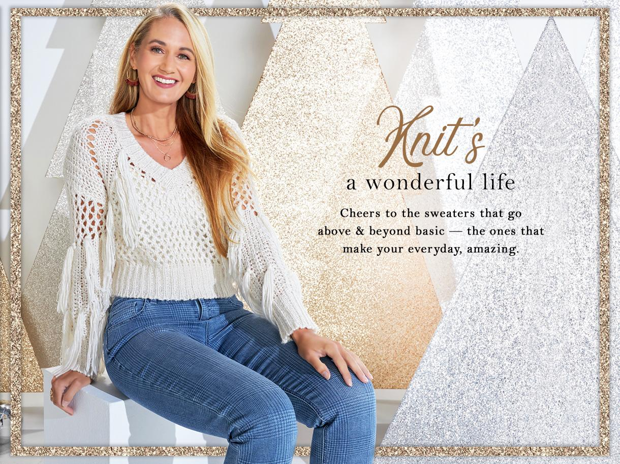 Knit`s a Wonderful Life collection