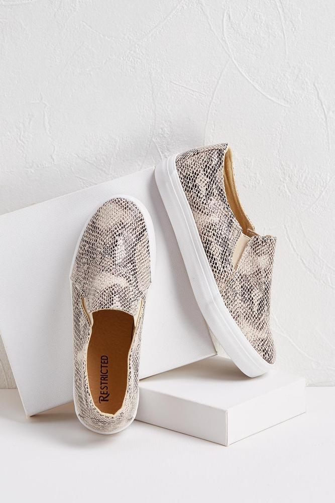Snake Slip- On Sneakers