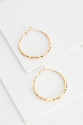 round gold hoops