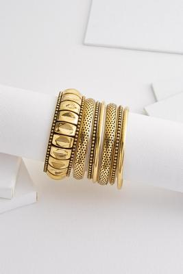 vintage gold bangle set