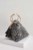Snakeskin Crossbody Bag