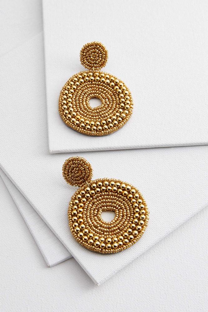 Shimmering Circle Earrings