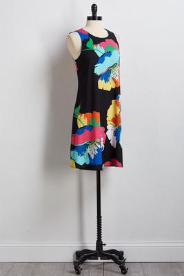 mod romance shift dress