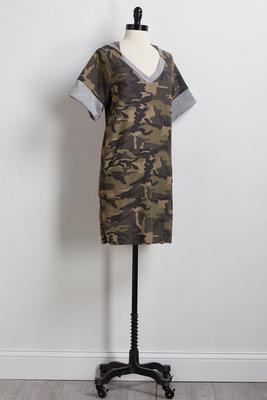 camo crush athleisure dress
