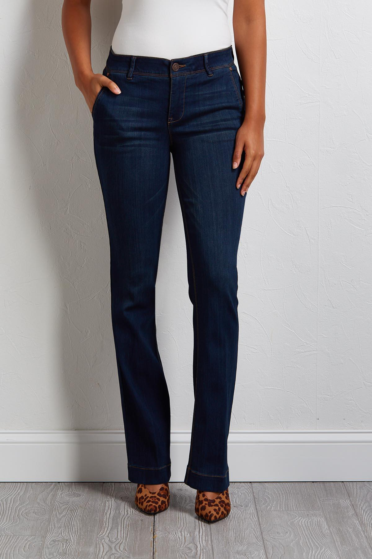 I Don ` T Flare Jeans