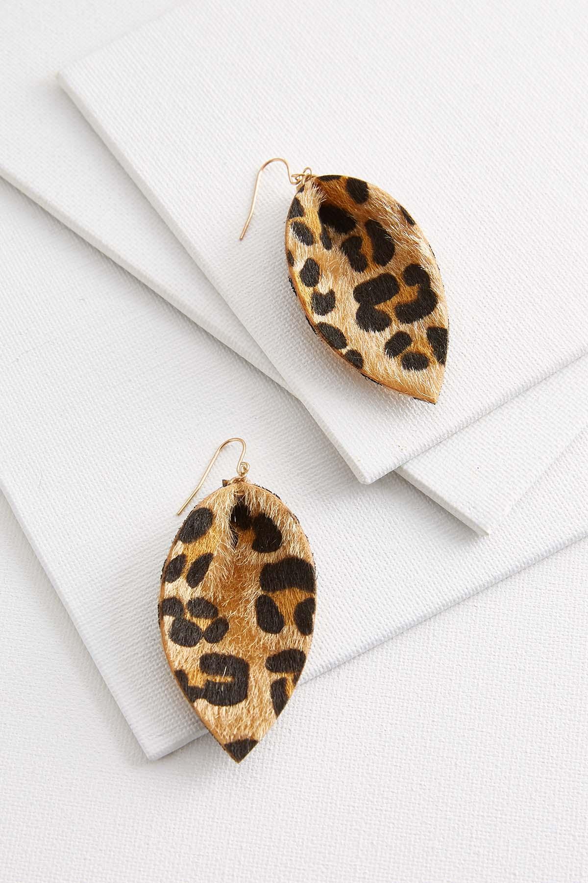 Fuzzy Animal Earrings