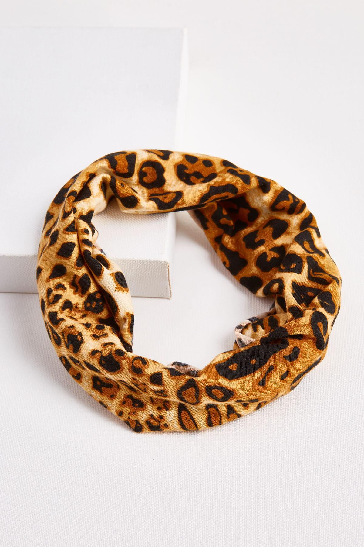 Thick Leopard Headband