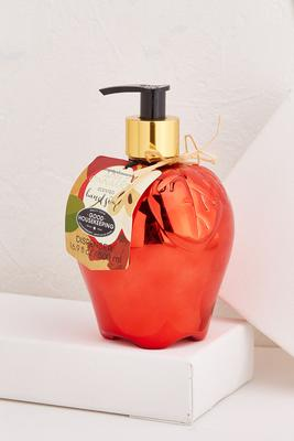 metallic apple soap