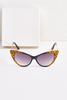 Leopard Cat Eye Sunglasses