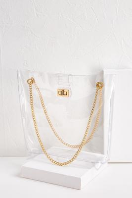 let`s be clear tote