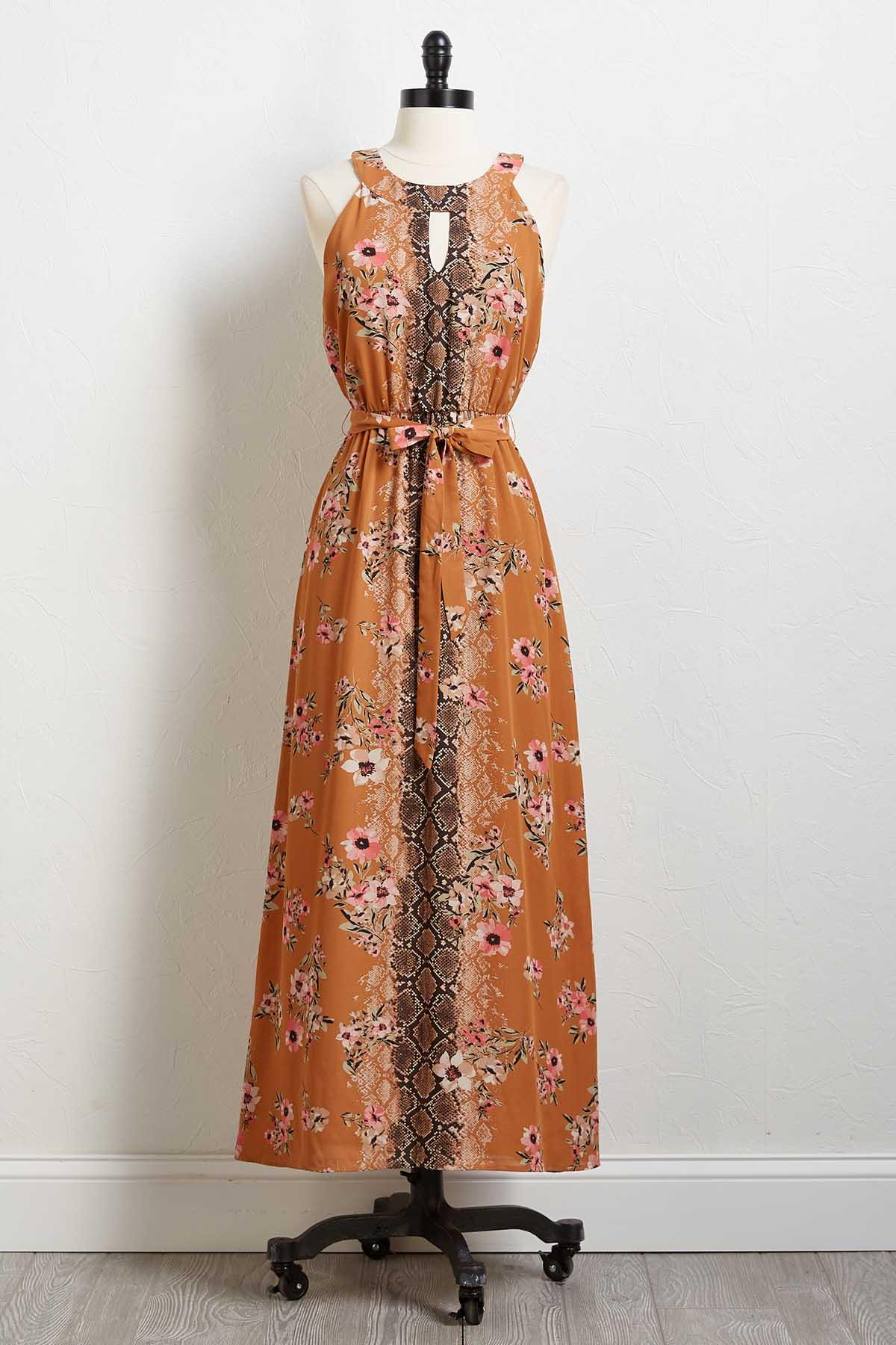 Snakes For Nothing Dress