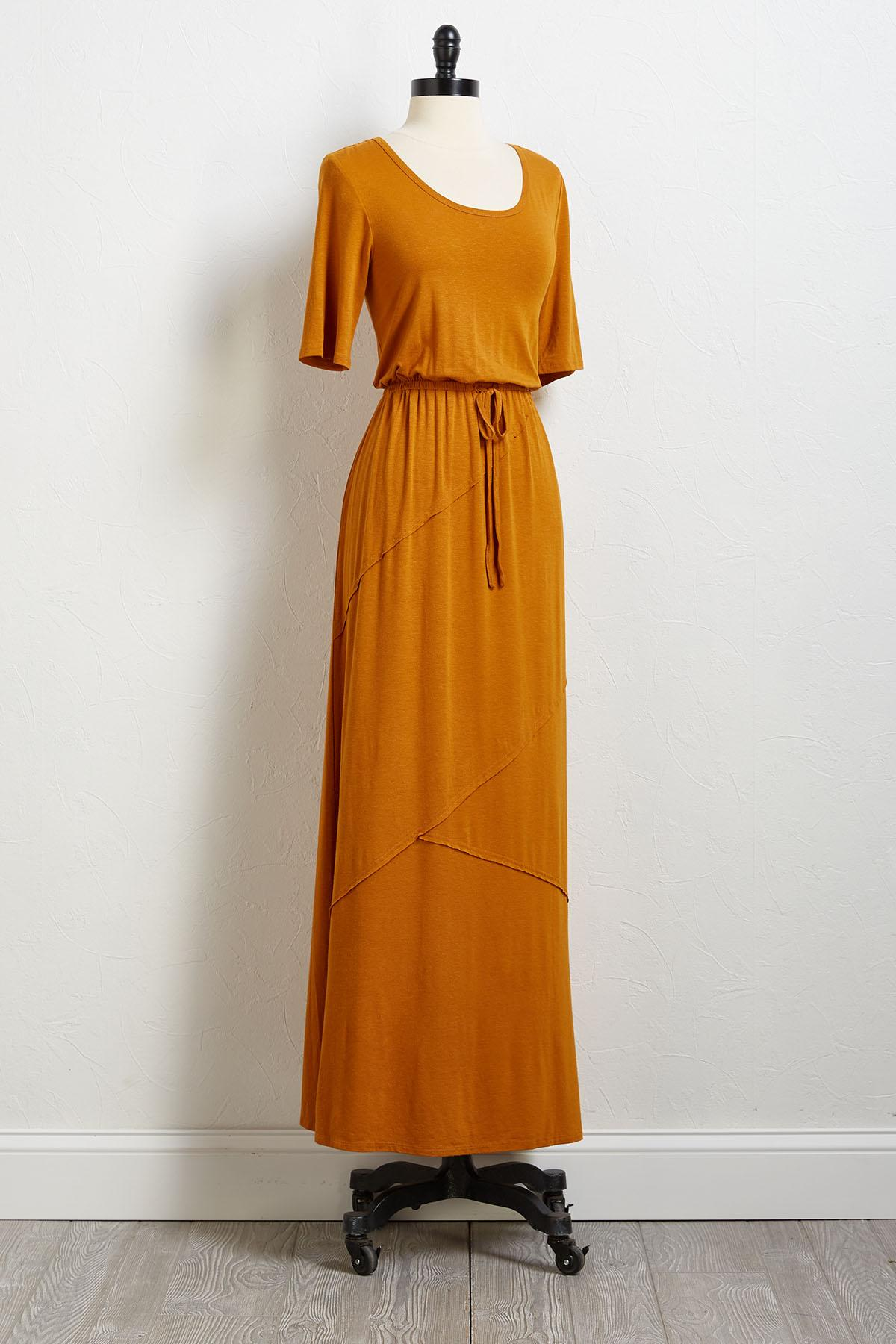 Don ` T Waist My Time Maxi Dress