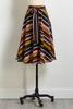 Get In Line Midi Skirt