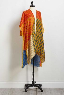 saffron kimono