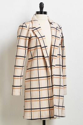 the plaid hatter coat