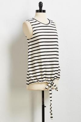 scallop stripe tank