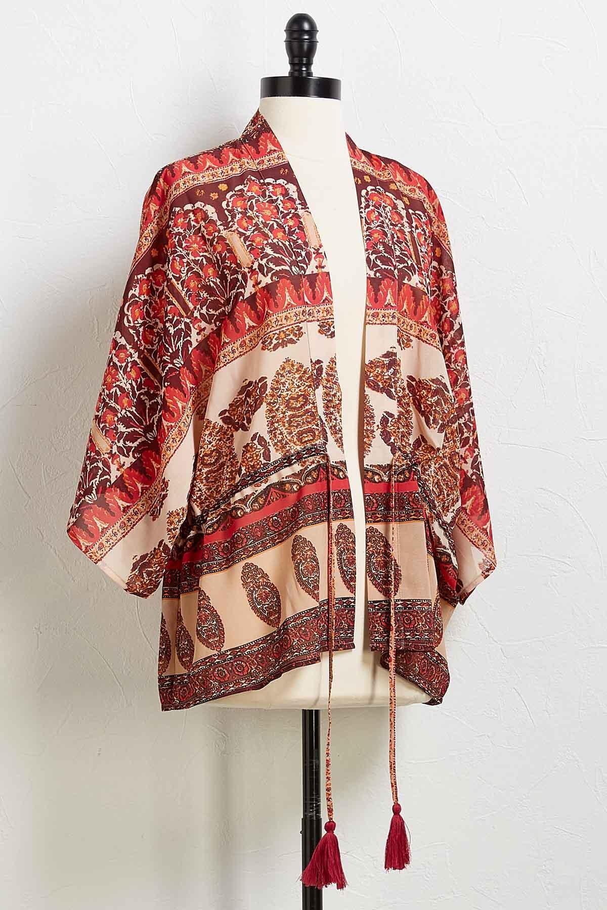 Tied Down Kimono