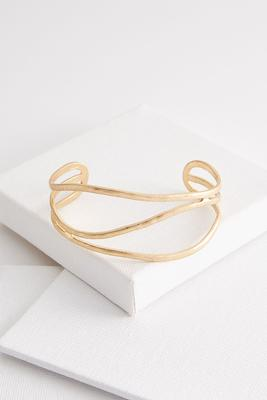 worn golden cuff