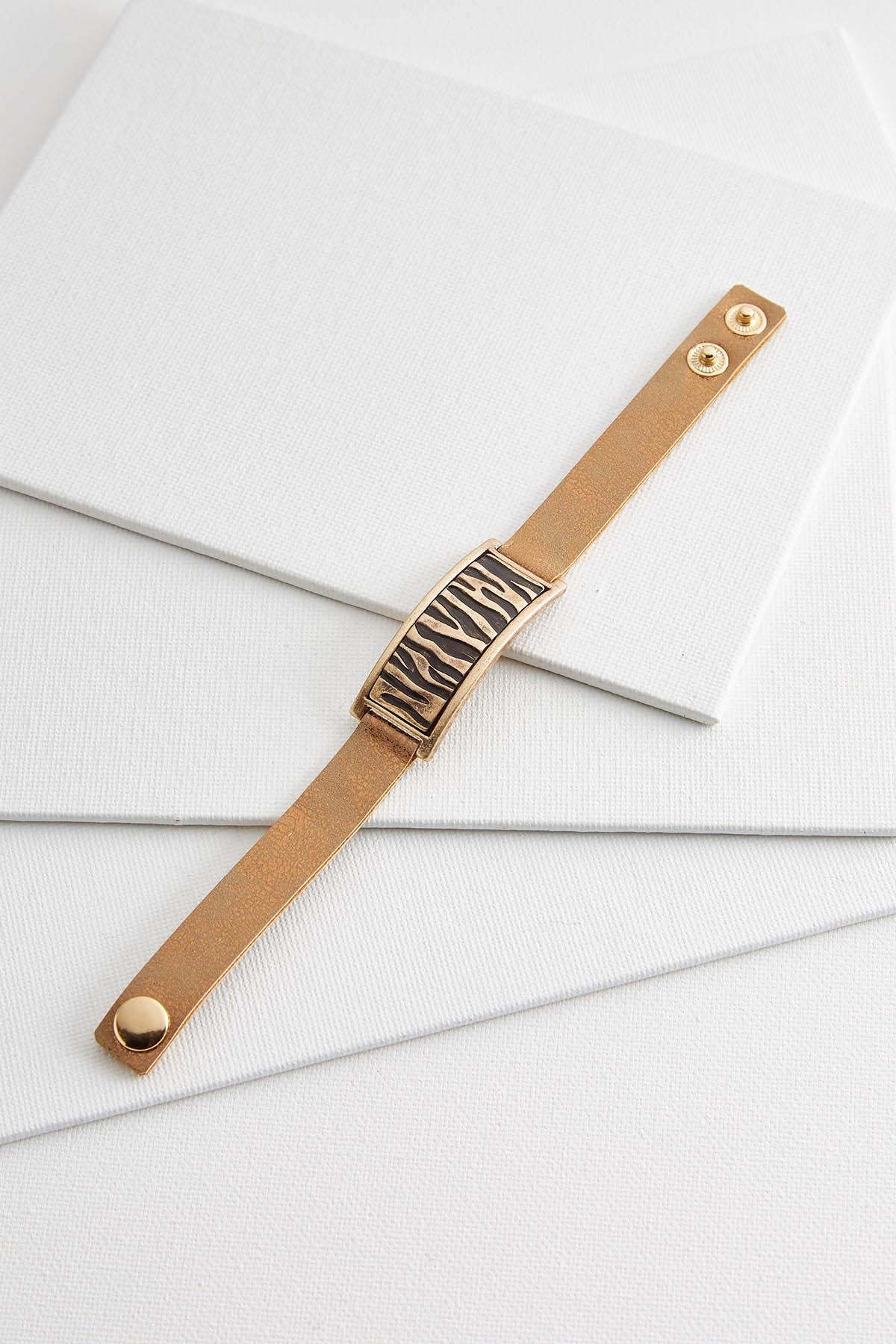 Animal Bar Strap Bracelet