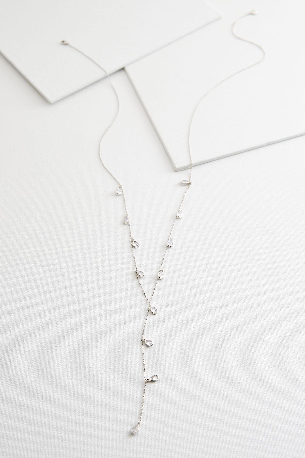 Tiny Tears Y- Necklace