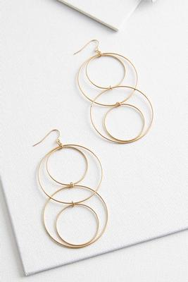mod ring earrings