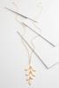 Falling Leaf Pendant Necklace